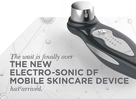 Electro-sonic DF MOBILE Skincare Device