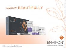 Celebrate Beautifully Stay Clear met Environ
