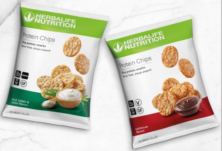 herbalife proteine chips